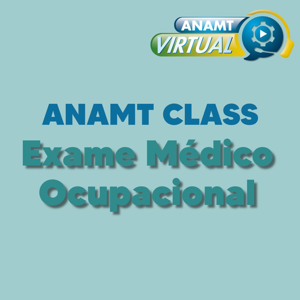 Exame Médico Ocupacional